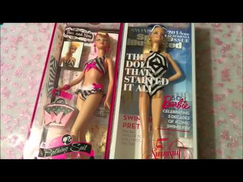 Barbie Sports Illustrated 50th Anniversary in box review