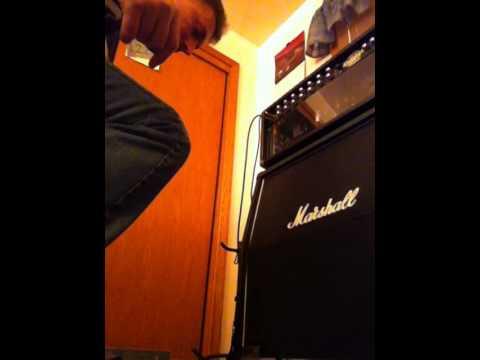 Mesa Tremoverb Boosted With Maxon OD808 Overdrive Pedal Demo