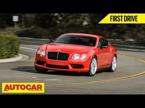 Bentley Continental V8S | First Drive | Autocar India