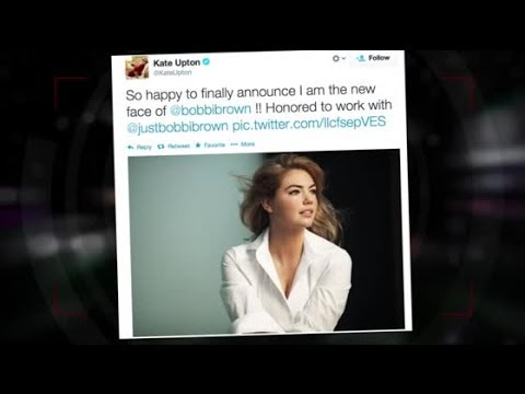 Kate Upton Named The New Face of Bobbi Brown Cosmetics