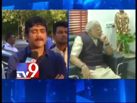 I am inspired by Narendra Modi – Nagarjuna – Tv9 Exclusive
