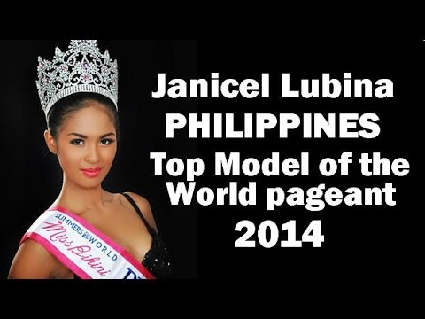 Janicel Lubina Philippines Representative – Top Model of the World Pageant 2014