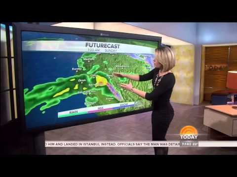 Dylan Dreyer BOOTY & Slow-Mo (12-14-13)