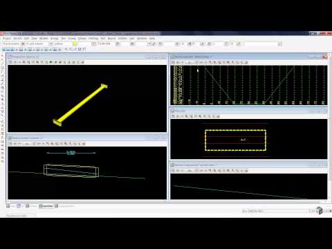 12d Model – 15 Creating an Exit Channel With a Gully Line (Drainage 2D Training)
