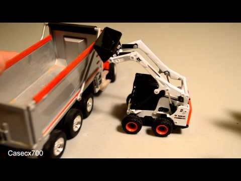 Bobcat S750 Skid-Steer Diecast Model Review