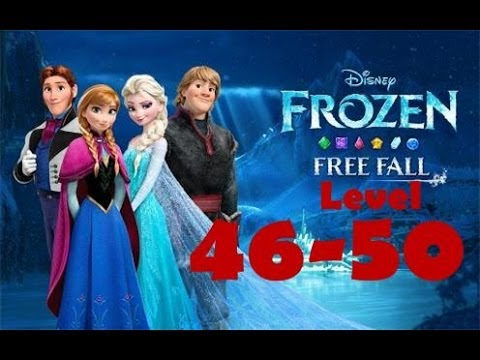 Disney FROZEN Free Fall Level [46-50] Walkthrough GAMEPLAY 2014 Android Game HD