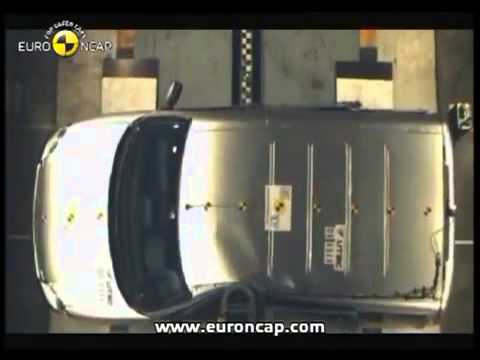 Euro NCAP Citroen Berlingo 2005 Crash test