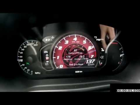 SRT Viper V10 640Ps Acceleration 0-100 km/h 0-320 km/h