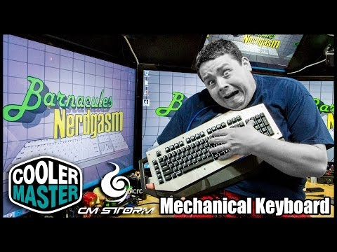 Cooler Master CM Storm MECH Aluminum Gaming Keyboard Review