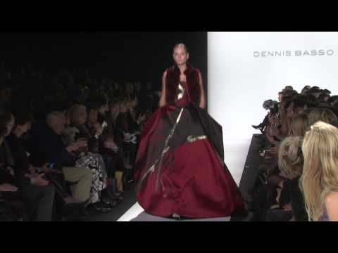 Models walk the runway during Dennis Basso – Fall 2014 Me…